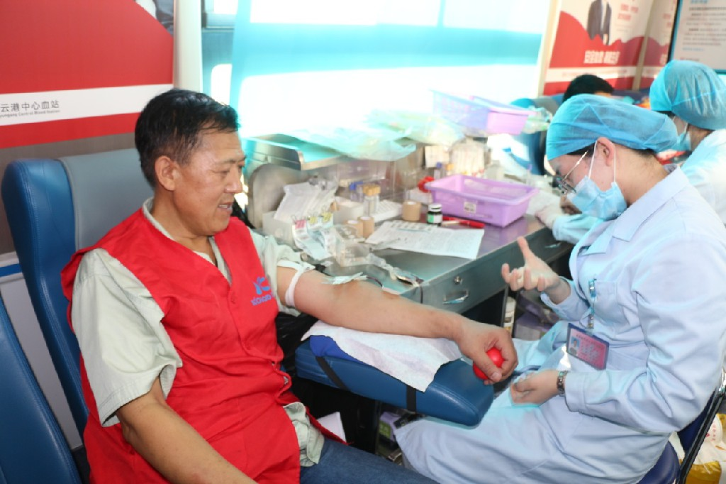 Gathering the power of blood and igniting the light of life-Jiangsu Kolod blood donation activity